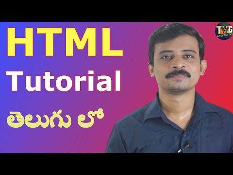 Introduction To HTML By Telugu Web Guru | HTML - Part 1