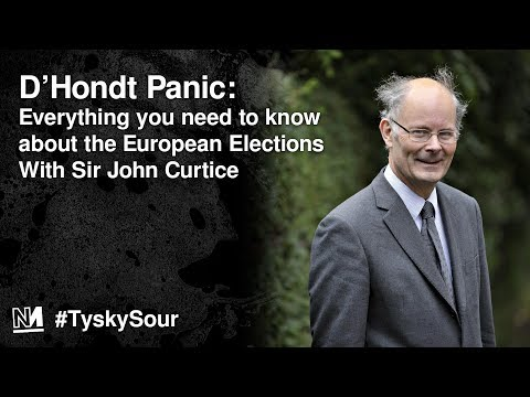 D'Hondt Panic! Everything you need to know about the European Elections With Sir John Curtice