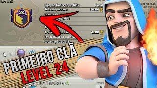 PRIMEIRO CLÃ NÍVEL 24 DO CLASH OF CLANS, OQUE ACONTECEU COM ESSE CLÃ?