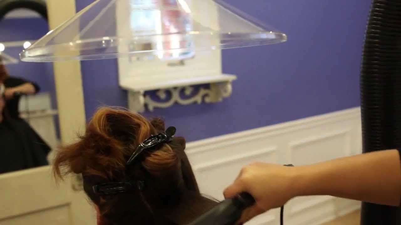 Salon Pure Air Fume Extractor for Keratin Smoothing Treatments - YouTube