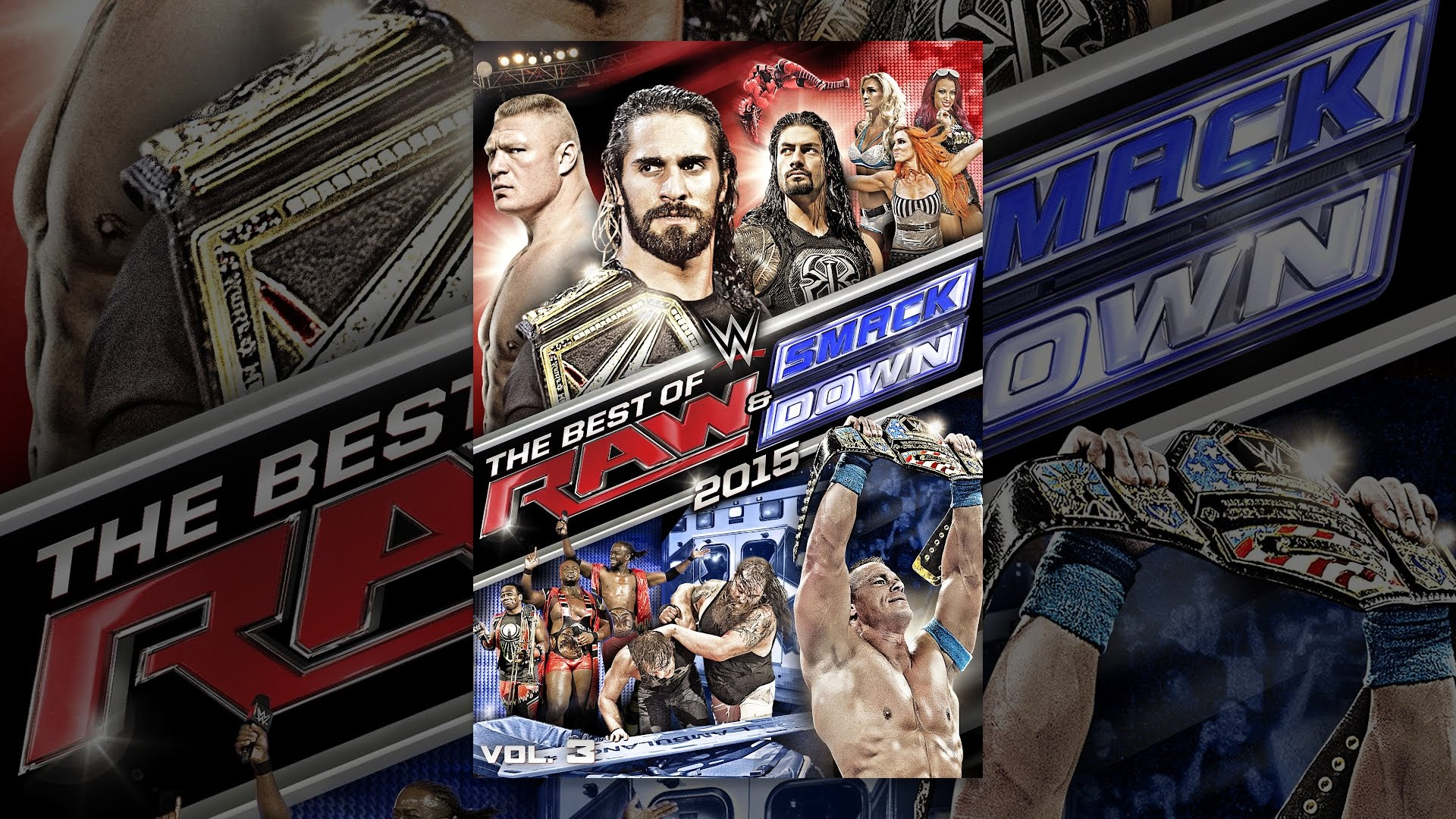 WWE: Best of RAW and Smackdown 2015 Volume 3