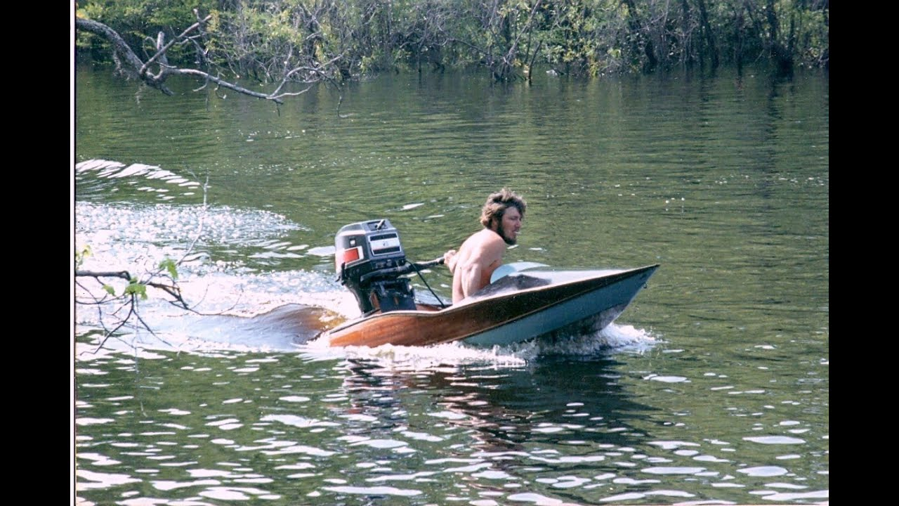 Homemade Fast Boat Quot Stripboat Quot 70 Hp Willardsboatworks Com