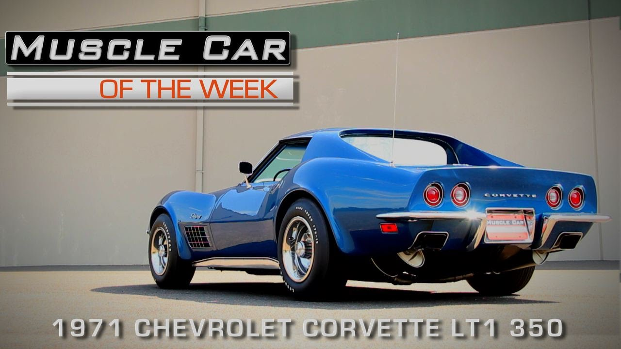 1971 Corvette Lt1 Muscle Car Of The Week Video Episode 133 Youtube