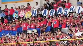 【美爆音】福浦和也応援歌 レッツゴー習志野 習志野高校 千葉ロッテマリーンズコラボ Japanese High school brass band & cheerleaders hampanai thumbnail