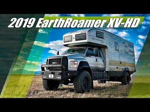 2019 EarthRoamer XV-HD Ford F-750 - Ultra Luxury Off Road Motorhome