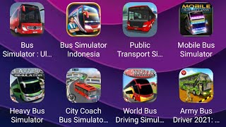 🤯Bus Simulator: Ultimate,Bus Simulator Indonesia,World Bus Driving Simulator,Mobile Bus Simulator🚌 screenshot 5