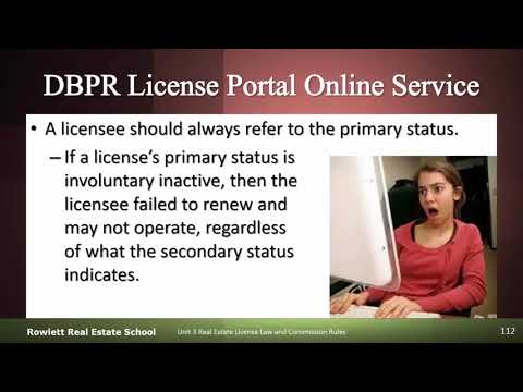 Primary and Secondary License Status Explained
