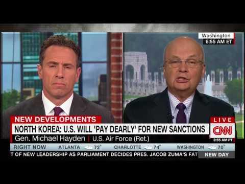 Former NSA Director Hayden: Trump Deserves Credit For Acting On N. Korea After Obama Did Not