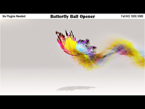 After Effects Template: Magical Butterfly Logo