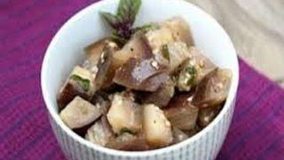 Салат из баклажанов. Гарнир