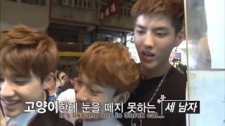 "[HD-Eng] D.O. cut ""HongKong Time"" in EXO First Box DVD Rhiannon FbHernadez"