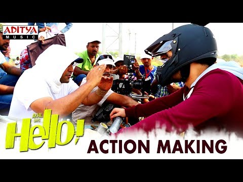HELLO! Movie Action Making | Akhil...