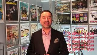"""""""Tv-yə Giriş SərBƏStDİR"""" adlı yeni konsert. 3-4-5-6-7 iyun 2020."""