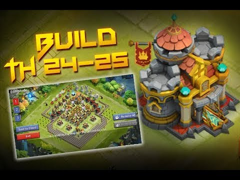 BaseBuild Video ❚ Strongest TH 24-25 Base In Game?