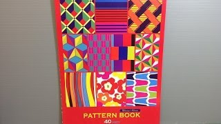 Daiso Pattern Book Craft Paper - Origami Unboxing!