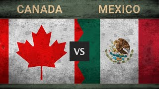 Military power comparison ✪ canada vs mexico who is the more powerful? here are countries with most powerful militaries in world. ranking based...