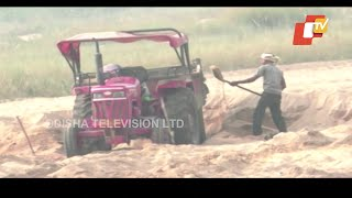 Illegal Sand Mining Rampant In Bolangir