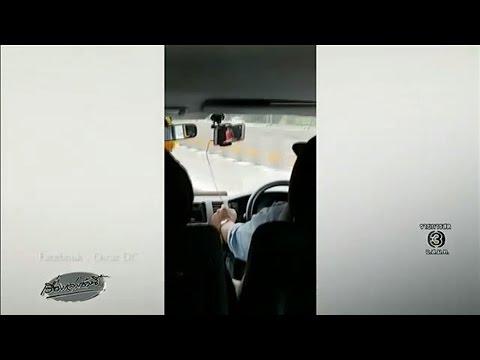 นทท.อิตาลีสุดทน อัดคลิปโชเฟอร์รถตู้สายระยอง ดูยูทูปไปด้วยตอนขับ-แอบงีบตอนติดไฟแดง