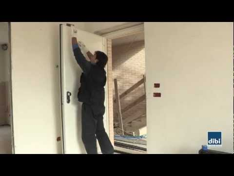 Final cleaning after the door installation