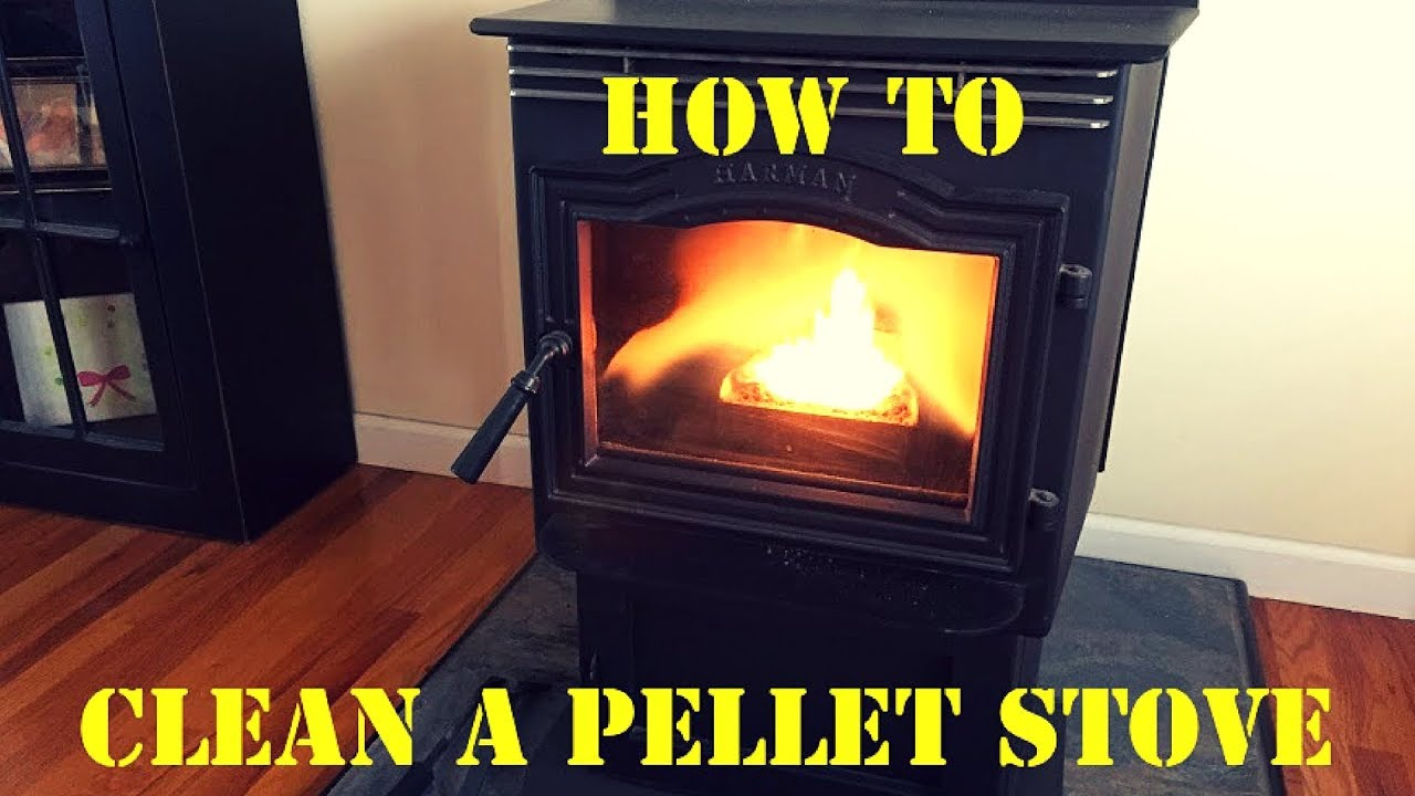 How To Clean A Pellet Stove Easy