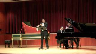 Sonatine-Duttileux    James Miller, Flute  Robert Rocco Piano