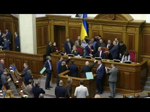 Ukraine declares martial law amid tensions with Russia