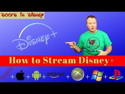 How to Watch Disney Plus