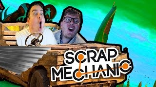 Video Daz 'n' Dave Play SCRAP MECHANIC (Cars) download MP3, 3GP, MP4, WEBM, AVI, FLV Desember 2017