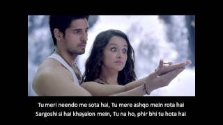 Teri Galliyan - Ek Villain Movie Song Lyrics & Video
