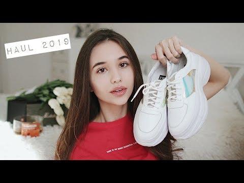 HAUL 2019 / ЧТО Я БУДУ НОСИТЬ ВЕСНОЙ ? / идеальные кроссовки