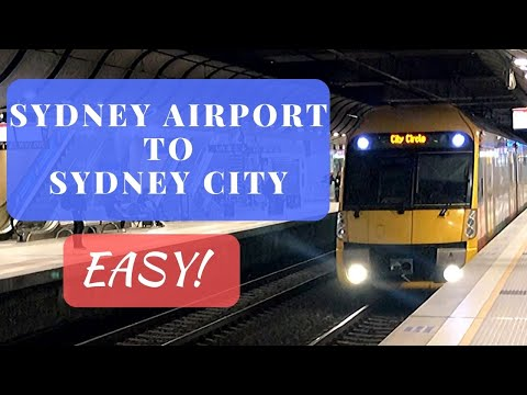 How To Get From Sydney Airport To The Heart Of The City - The Quick And Easy Way.
