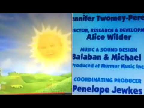 Blue's Clues, Sesame Street, & Teletubbies Credits Remix