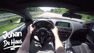 2017 BMW M6 Coupé 560hp POV test drive GoPro