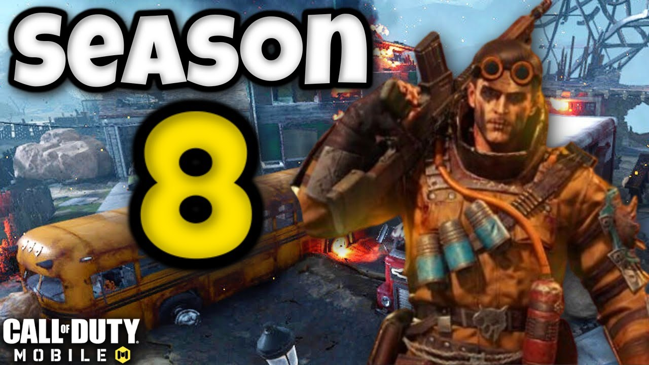 Season 8 Battle Pass Characters And Release Date For Cod Mobile Season 8 Youtube
