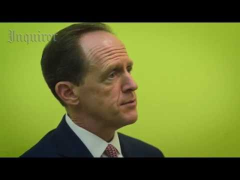 Inquirer Editorial Board interview with U.S. Sen. Pat Toomey