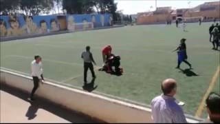 Pelea de padres en un partido de infantiles en Alaró (Mallorca)