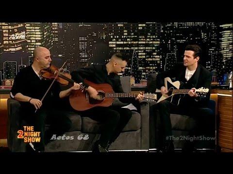 Ο Νίνο στο The 2night Show {8/3/2017}