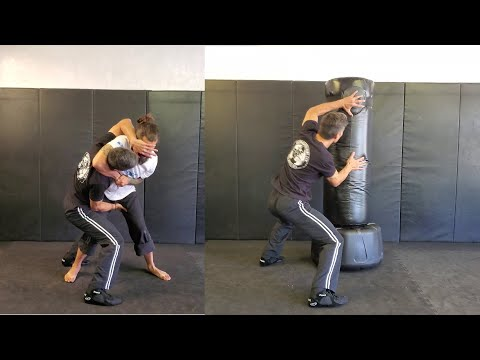 Krav Maga Fitness Level 1 Self Defense (Individual Practice on Heavy Bag)