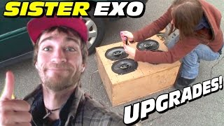 Sister EXO Gets BETTER Speakers & LOTS of Car Audio Updates w/ KMASHI FREEBIES!!!