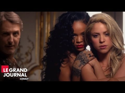 Shakira & Rihanna - Can't Remember To Forget You feat Antoine de Caunes - Le Grand Journal