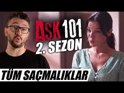 AŞK 101- 2. Sezon İncelemesi - Türkiye'nin YENİ En Saçma Sahnesi