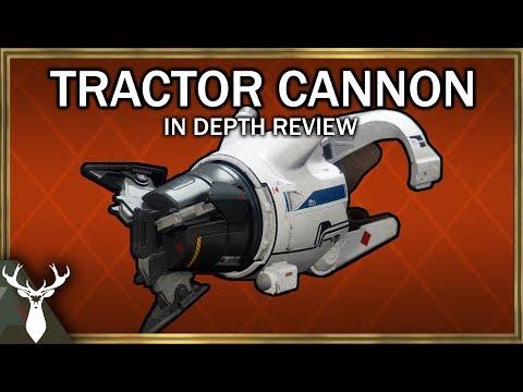 Destiny 2 - Tractor Cannon - In Depth Review (Exotic Shotgun)