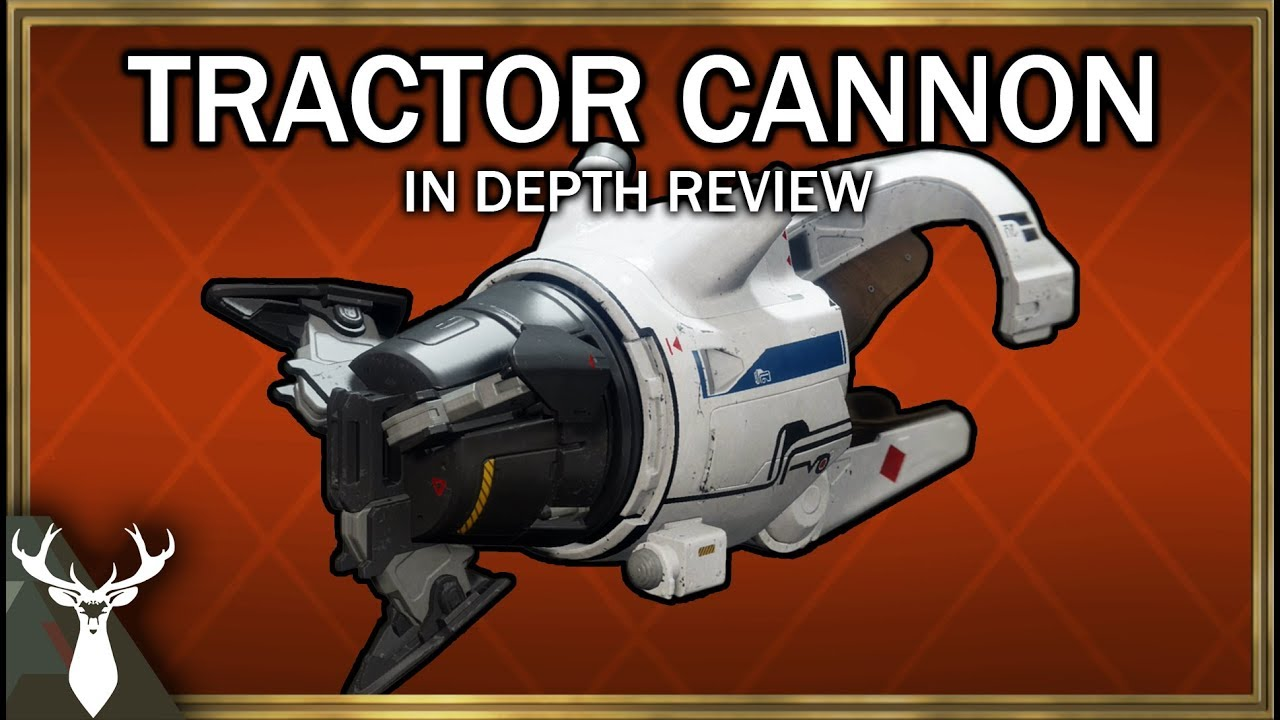 tractor cannon destiny 2 review