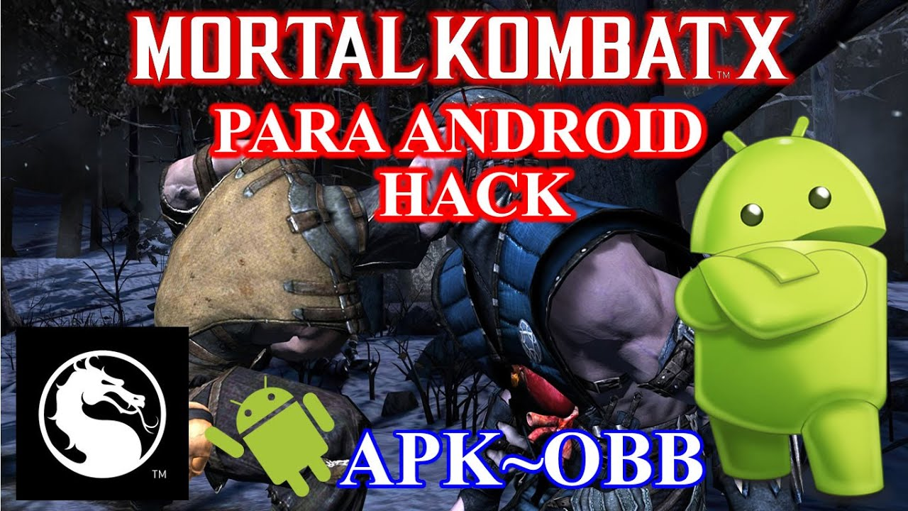 Mortal Kombat X HACK Para ANDROID [APK~OBB]  #Smartphone #Android