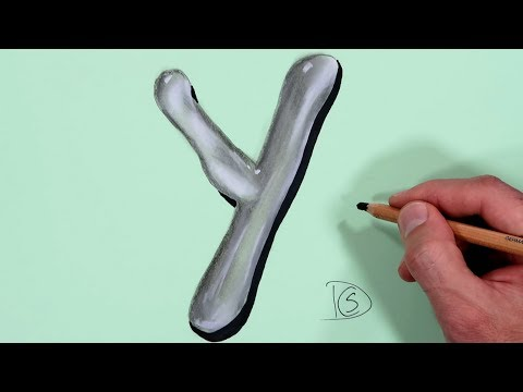 how-to-draw-a-letter-y-in-water-with-dry-pastel-pencils