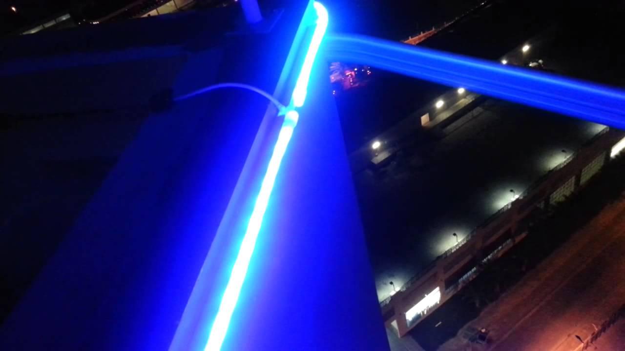 Led Neon Flex Rope Light Installed 5