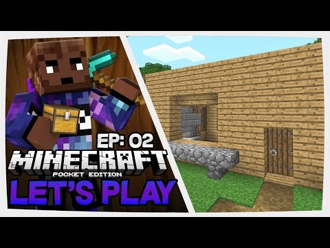(0.15.1) Let's Play Minecraft Pocket Edition | Ep: 02