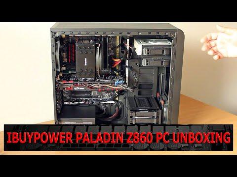 iBuyPower Paladin Z860 Gaming PC Unboxing Video OCinside.de