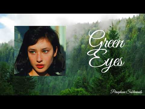 Get Emerald Green Eyes || Subliminal