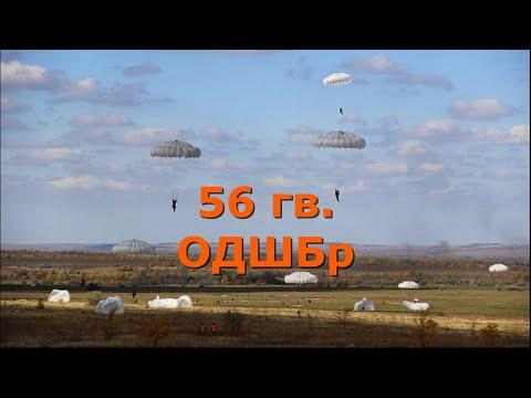56-ая гвардейская ОДШБр  (отдельная десантно-штурмовая бригада).